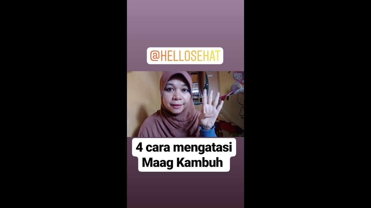 TIPS MENGATASI MAAG KAMBUH!!!! - YouTube
