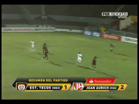 Estudiantes Tecos 1 vs Juan Aurich 2
