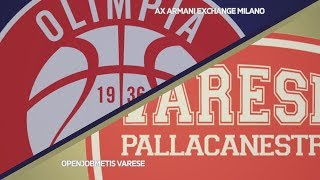HIGHLIGHTS/ AX Armani Exchange Milano - Openjobmetis Varese 93-69