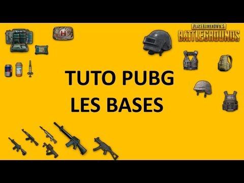 Tuto PUBG - les bases : équipement - consommables - armes