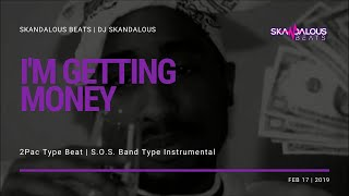 2Pac - I'm Getting Money (Original Instrumental Remake | DJ Skandalous Beats)