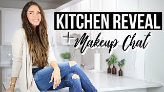 KITCHEN MAKEOVER + GET READY WITH ME!