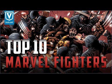 Top 10 Fighters In Marvel Comics!