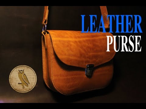 Making a Leather Purse