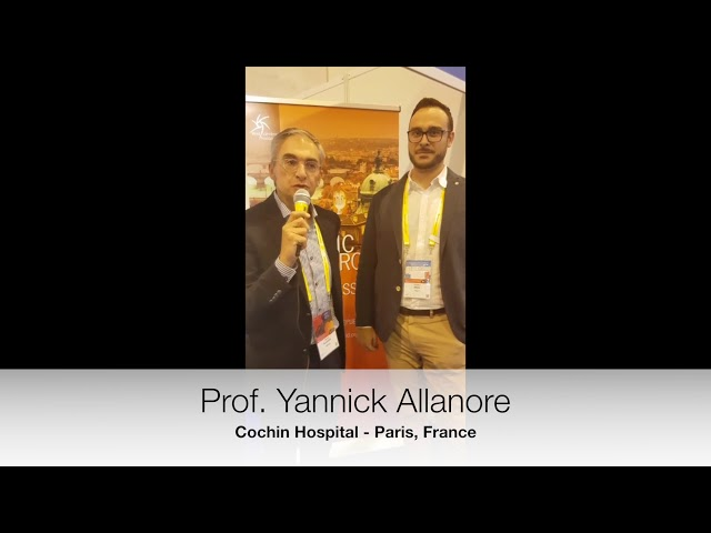 Prof. Allanore's interview on  Innovative treatment in SSc targets or lost in translation ?