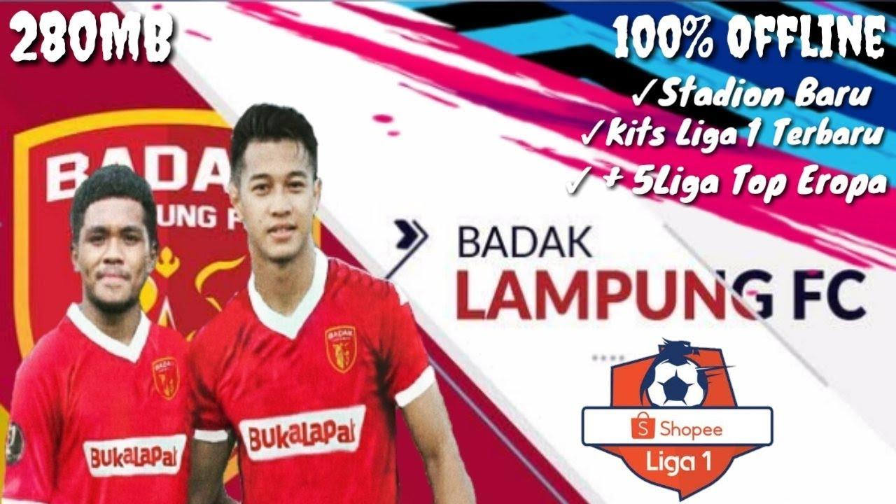 FTZ 19 MOD BADAK LAMPUNG FC 2019 FULL UPDATE JERSEY 2019 ...Badak Lampung Futbol24