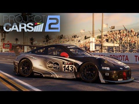 Project CARS 2 - Porsche 911 GT3 R - Long Beach (WIP)