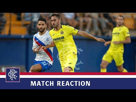 REACTION   Daniel Candeias   Villarreal 2-2 Rangers