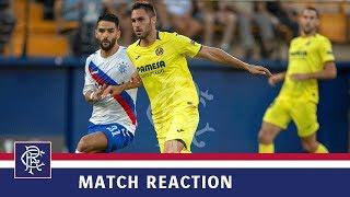 REACTION | Daniel Candeias | Villarreal 2-2 Rangers