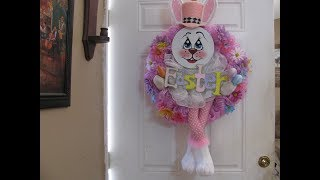 Carmen\'s 2019 Easter Bunny Wreath