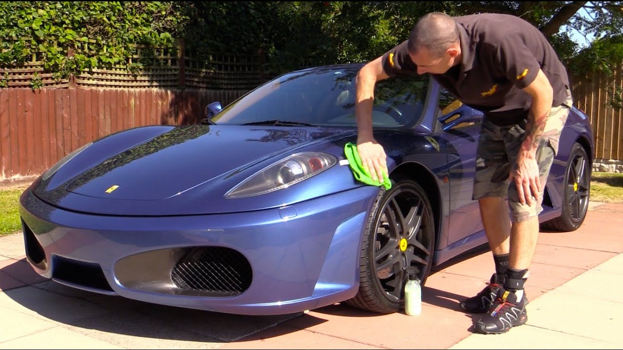 U0027Washingu0027 A Ferrari Without Water   YouTube