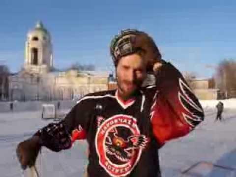 Хоккей  Наровчат  Драка Я в ШОКЕ!!! Видео