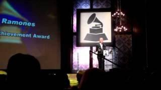 The Ramones receive GRAMMY Lifetime Achievement Award - Pt. 1 of 2