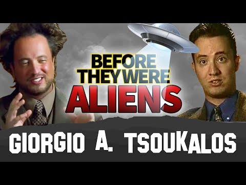 GIORGIO A. TSOUKALOS | Before They Were Aliens | Ancient Aliens MEME