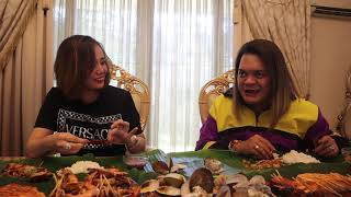 Getting to know Ms. Eve Dela Vega// Q&A//MUKBANG//Win 5,000 pesos (PART 2)