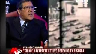 """""""Chino"""" Navarrete estuvo detenido en Pisagua"""