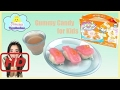 Gummy food Candy Yummy Nummies Kitchen Magic Sushi Surprise Food Maker Playset Princess ToysReview