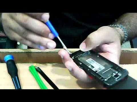 nokia E66 Replace Lcd / Disassambel training mobile phone urdu