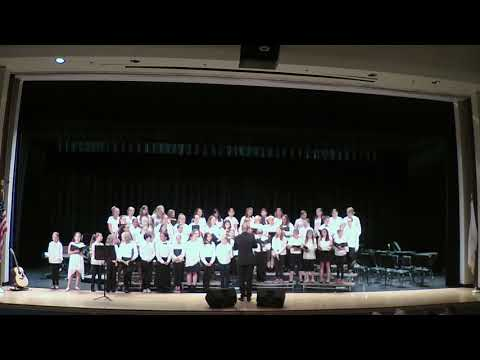 The Westerly Middle School Chorus Performing TAKE ME HOME