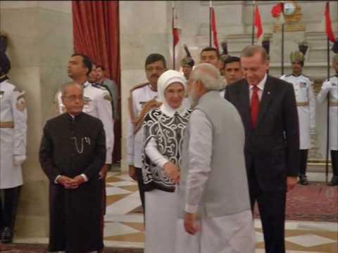 Turkey's Erdogan meets his Indian counterpart in New Delhi