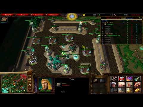 Warcraft 3 Battle Tanks 1.30X, основы, поведение в ранней игре - Продолжительность: 23:28