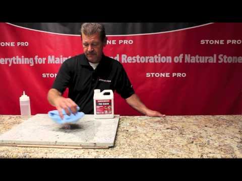 Stone Pro: How To Seal Granite Countertops With StonePro