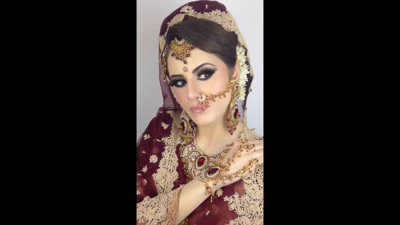 asian walima bridal makeup tutorial traditional youtube