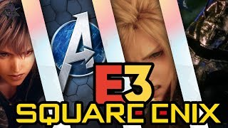 SQUARE ENIX Showcase |  What to Expect - E3 2019