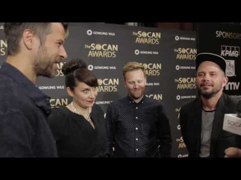"""SOCAN Awards 2016 Interview: Trevor Guthrie, Simon Wilcox, Mike Wise, """"Tawgs"""" Salter"""