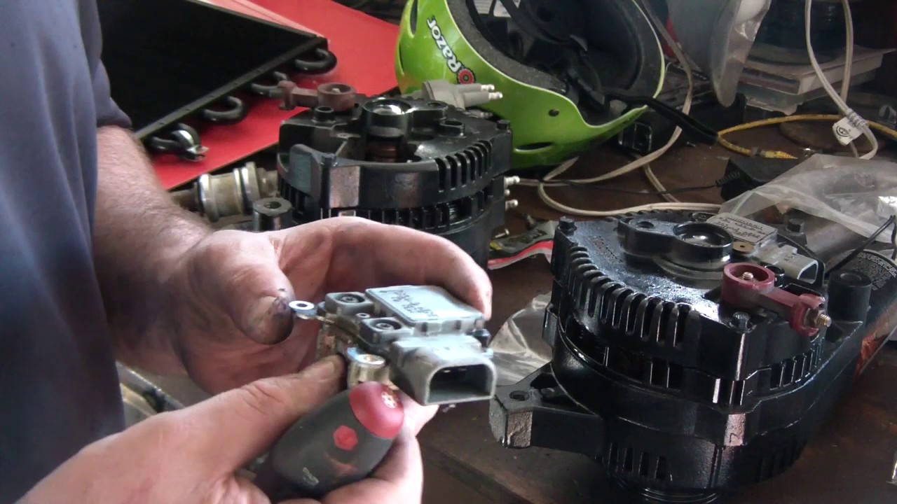 ford 2g 3g 4g alternator troubleshooting voltage regulator module repair [ 1280 x 720 Pixel ]