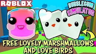 🔴 ROBLOX LIVE 🔴 GIVING AWAY FREE LOVELY MARSHMALLOWS AND LOVE BIRDS - LEGENDARY PETS