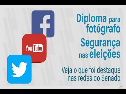 Segurança da urna eletrônica e Fórum da Água são destaques nas redes sociais do Senado