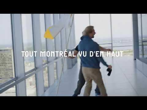 Tout Montréal vu d'en haut - Observatoire Place Ville Marie