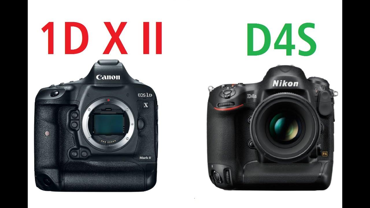 尼康d4s和佳能1dx_Canon EOS-1D X Mark II vs Nikon D4S - YouTube