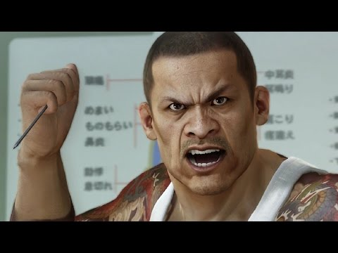 "Yakuza 0: Wen Hai Lee ""God Hands"" Boss Fight (1080p 60fps)"