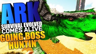 ARK Scorched Earth - 😂HUNTING DOWN BOSSES, POISON MORELLATOPS TAME Modded #2 - ARK Comes Alive Mod