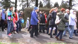 Clips from The Rosary Procession, Knock Marian Shrine, 4th May 2013