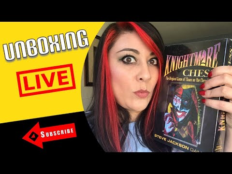 Steve Jackson Classics: Knightmare Chess Unboxing