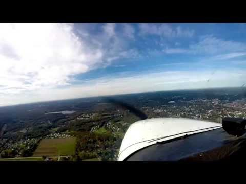 My brother's first flight in a single-engine aircraft - 10.11.15