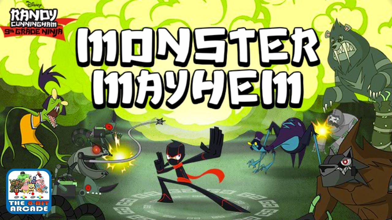 Randy Cunningham Monster Mayhem Stop Mcfist S Monsters