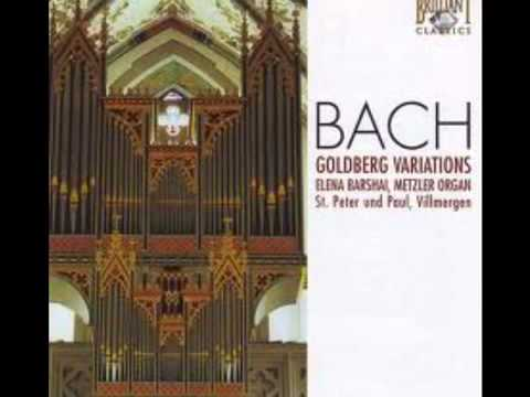 Bach Goldberg Variations Organ