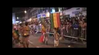 BATUCADA BAHIA JAMAY-K 2015 EN EL CORSO DE SAN FERNANDO