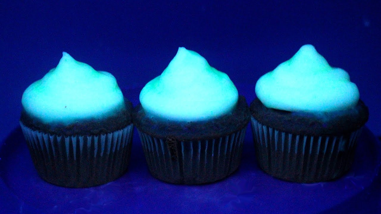 How To Make Glow In The Dark Cupcakes Recipe Youtube