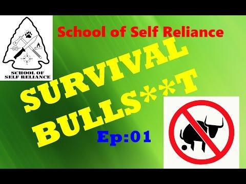 Ep 1: Survival Bulls**t