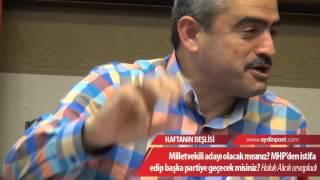 Milletvekili adayı olacak mısınız? MHP'den istifa edip başka partiye geçecek misiniz?