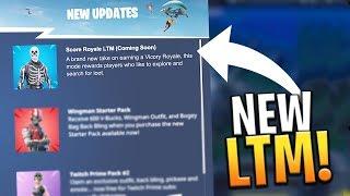 *NEW* SCORE ROYALE LTM GAMEMODE COMING SOON! (LEAKED SEASON 5) - Fortnite: Battle Royale