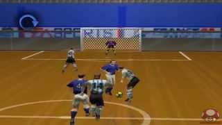 Gameplay: Fifa 98 (Nintendo 64) - Itália x Argentina - Indoor Stadium