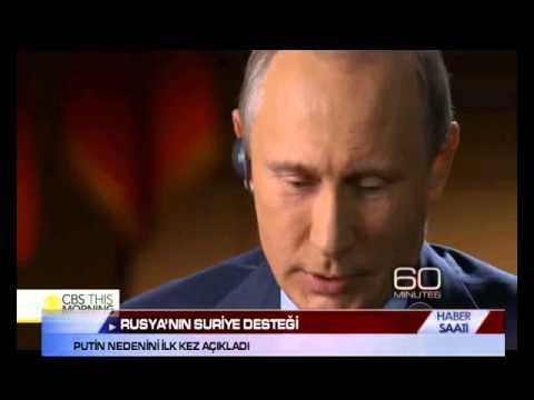 PUTİN  RUSYA'NIN SURİYE'Yİ NEDEN DESTEKLEDİĞİNİ AÇIKLADI?