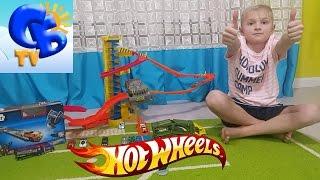 Хот Вилс трек с подъемным механизмом Хотвилс пусковая установка Hot Wheels Star Wars play