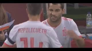 gales vs españa 1-4 resumen y goles !!!